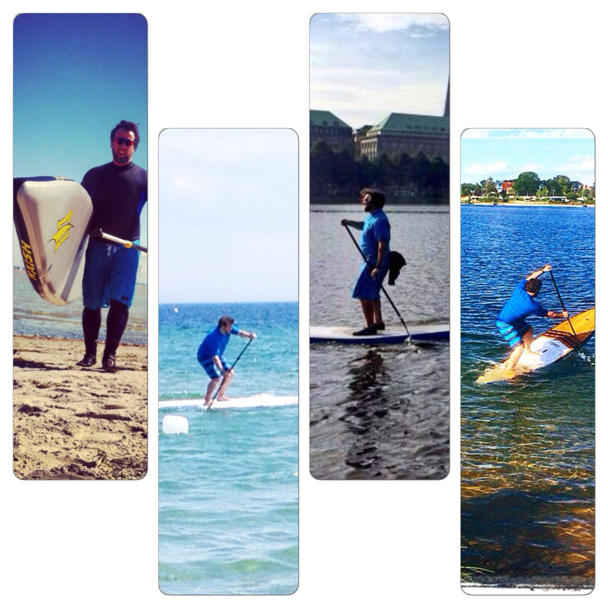 Mein SUP Sommer2014